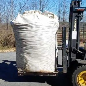 Straight Biochar high fixed carbon 2yd super sack